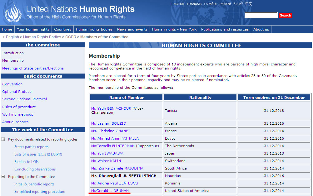Human Rights Committee