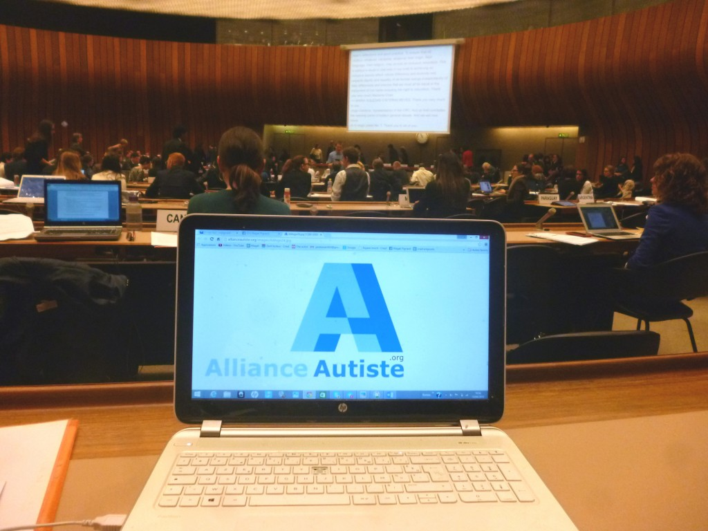 20150415 Alliance Autiste - ONU - DGD Education